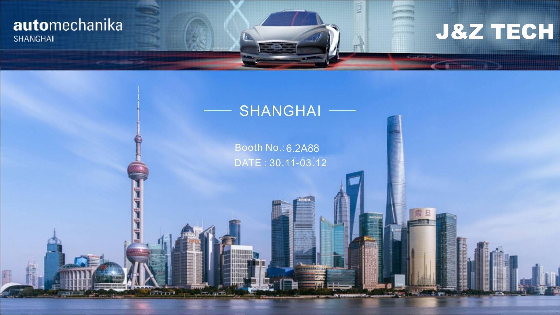j & z shanghai automechanika show